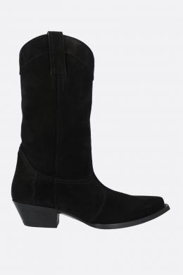 Lukas suede western boots