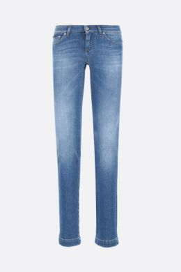 DOLCE & GABBANA: jeans Girly Colore Blu