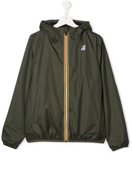 K-WAY KIDS: Le Vrai 3.0 Claude nylon windbreaker Color Multicolor