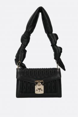 Miu Confidential quilted nappa shoulder bag