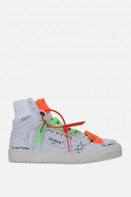 OFF WHITE: sneaker Off-Court 3.0 in nabuk Colore Bianco