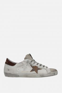 GOLDEN GOOSE DELUXE BRAND: Superstar sneakers in smooth leather and suede
