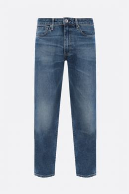 LEVI'S MADE & CRAFTED: jeans cropped Draft Taper Colore Blu