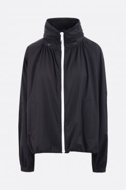 GIVENCHY: technical fabric windbreaker Color Black