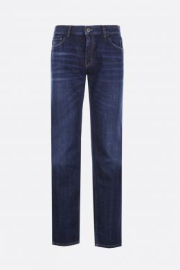 PRADA: tapered-fit jeans Color Blue