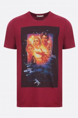 ETRO: ETRO X STAR WARS cotton t-shirt Color Red