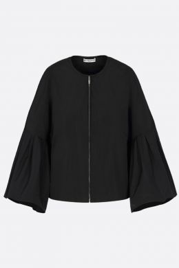 GIVENCHY: giacca full-zip in taffetà Colore Nero