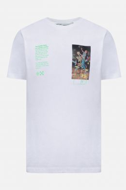 OFF WHITE: Pascal Painting cotton t-shirt