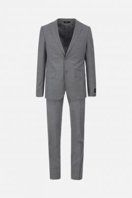 Z ZEGNA: two-pieces suit in wool Color Grey
