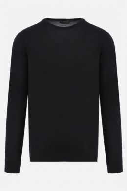 combed wool basic pullover