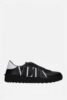 Open VLTN smooth leather sneakers