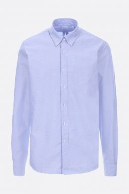 ASPESI: slim-fit oxford shirt Color Blue