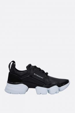 GIVENCHY: sneaker Jaw in pelle e suede Colore Nero