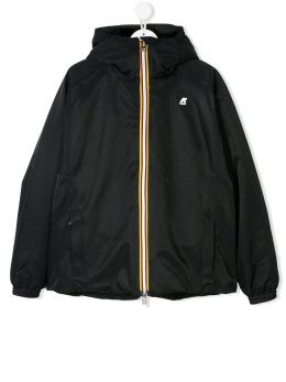 K-WAY KIDS: Marie nylon windbreaker Color Black