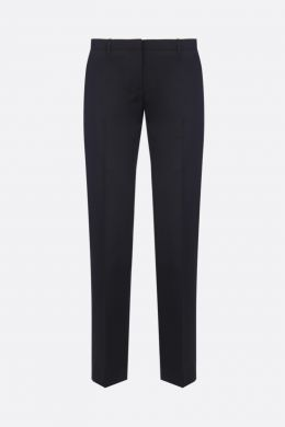 THEORY: pantalone in lana stretch Colore Nero