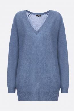 THEORY: Dolman cashmere pullover Color Blue