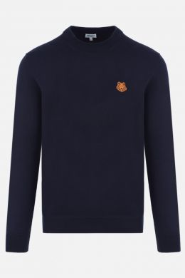 Tiger Crest wool pullover