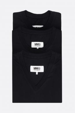 pack 3 t-shirt in jersey di cotone