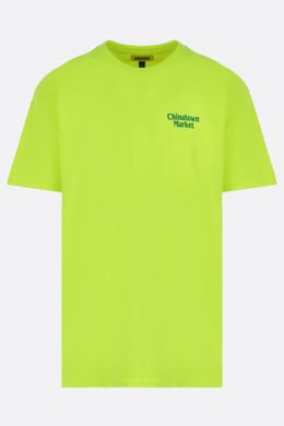 CHINATOWN MARKET: t-shirt Lawyer in cotone Colore Giallo