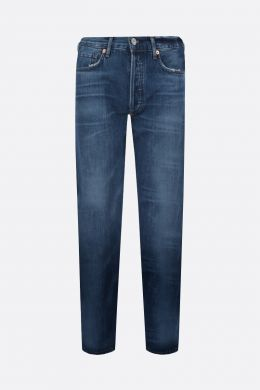 CITIZENS OF HUMANITY: jeans straight-fit Charlotte Colore Blu
