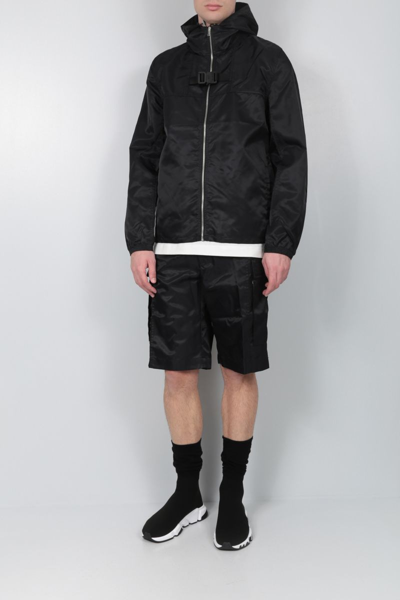 1017 ALYX 9SM: Rollercoaster-detailed nylon cargo shorts Color Black_2