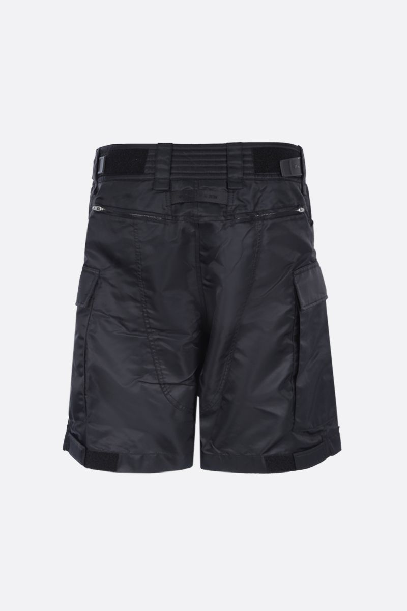 1017 ALYX 9SM: Tactical buckle-detailed nylon shorts Color Black_2