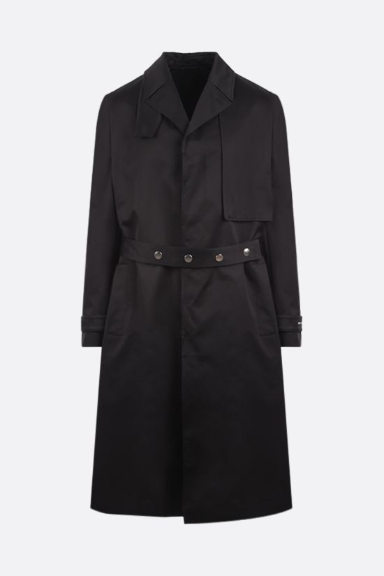 1017 ALYX 9SM: single-breasted cotton trench coat Color Black_1