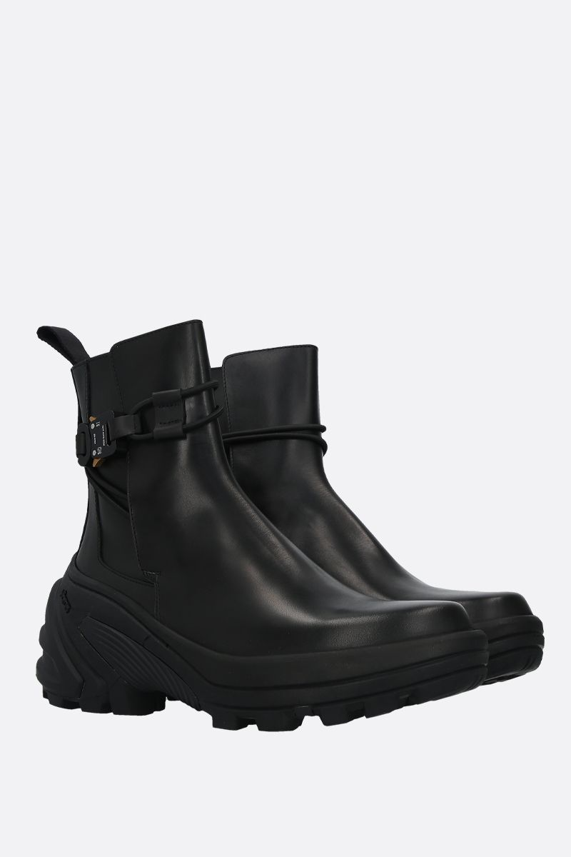 1017 ALYX 9SM: smooth leather chelsea boots Color Black_2