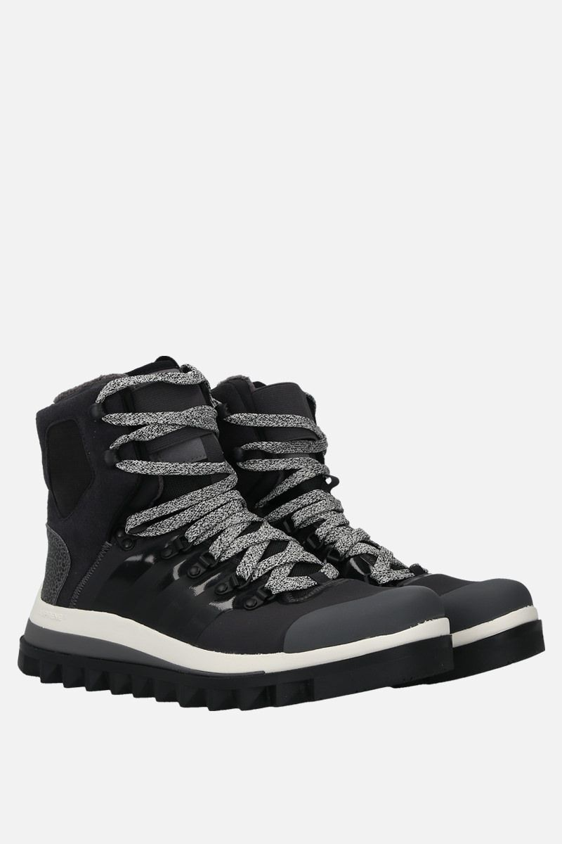 ADIDAS BY STELLA McCARTNEY: Eulampis ankle boots in a mix of materials Color Black_2