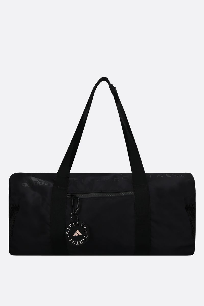 ADIDAS BY STELLA McCARTNEY: adidas by Stella McCartney Round nylon weekend bag Color Black_1