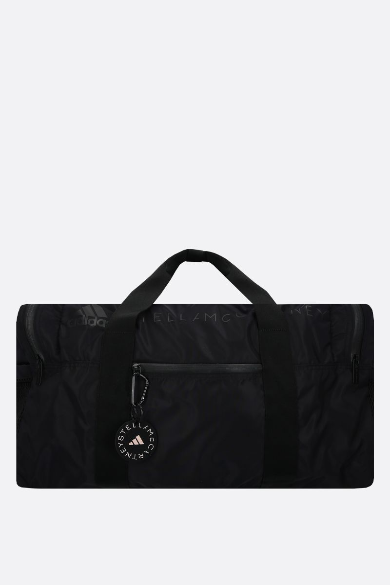 ADIDAS BY STELLA McCARTNEY: borsa weekend adidas by Stella McCartney in nylon Colore Nero_1