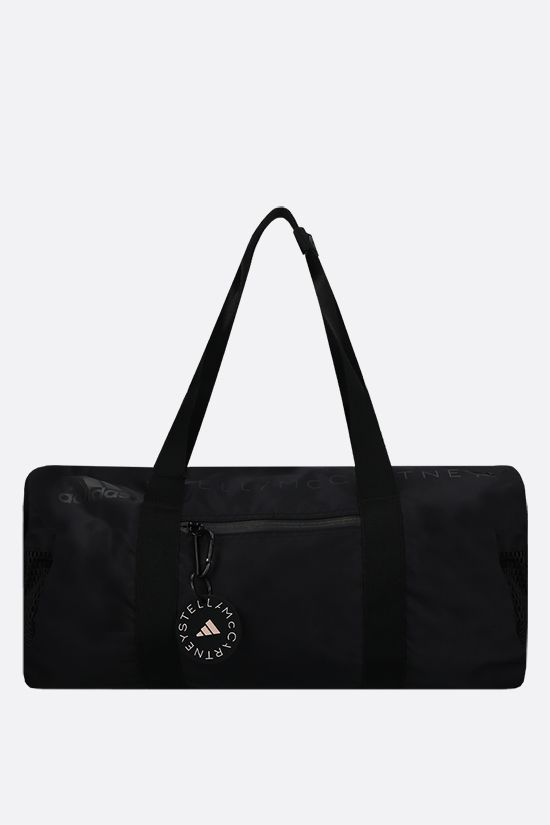 ADIDAS BY STELLA McCARTNEY: adidas by Stella McCartney Round recycled nylon weekend bag Color Black_1