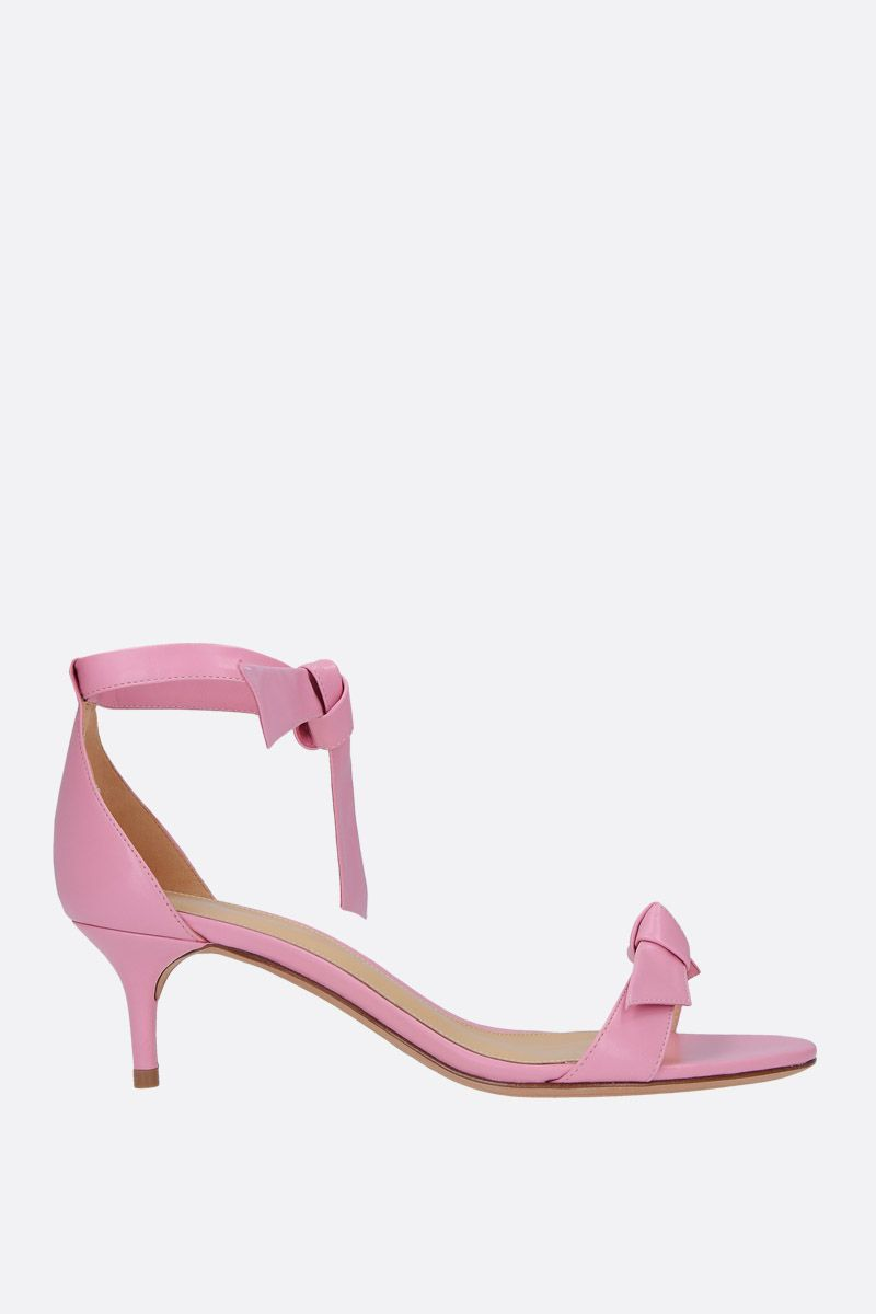 ALEXANDRE BIRMAN: Clarita sandals in nappa leather Color Pink_1