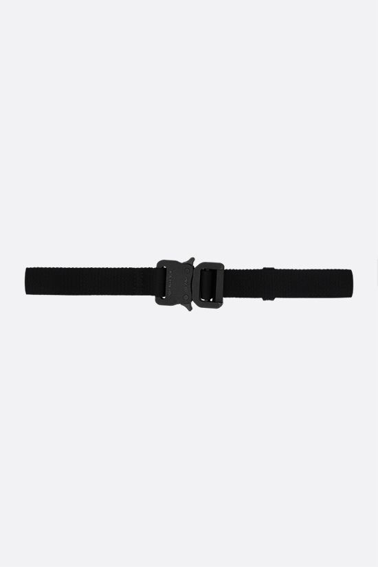 1017 ALYX 9SM: cintura Rollercoaster media in nylon Colore Nero_1