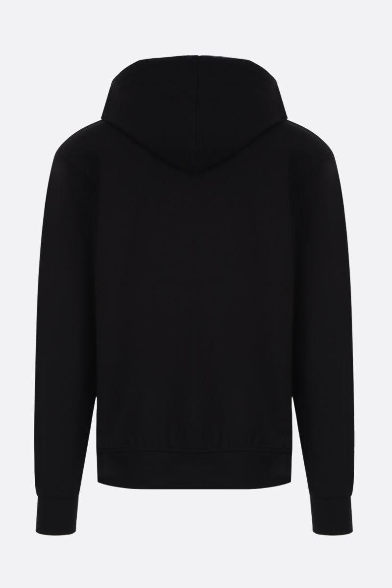 1017 ALYX 9SM: Rollercoaster-detailed stretch jersey hoodie Color Black_2