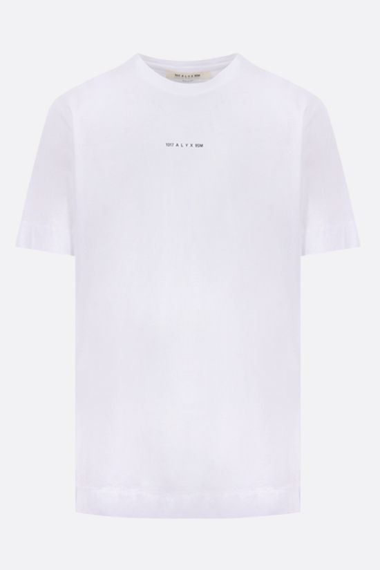 1017 ALYX 9SM: Dried Tears cotton t-shirt Color White_1