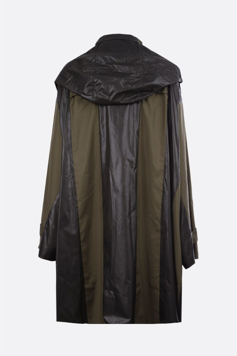 AMBUSH: oversized nylon poncho Color Green_2