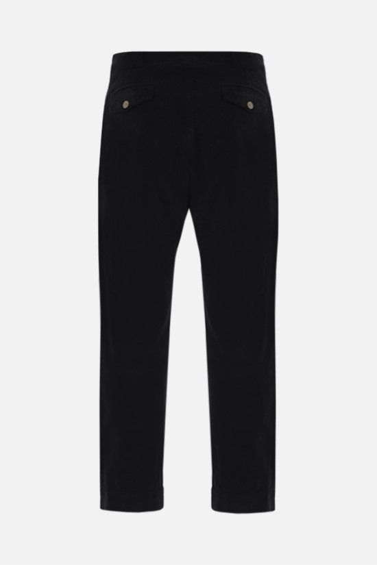 PALM ANGELS: corduroy cargo pants Color Black_2