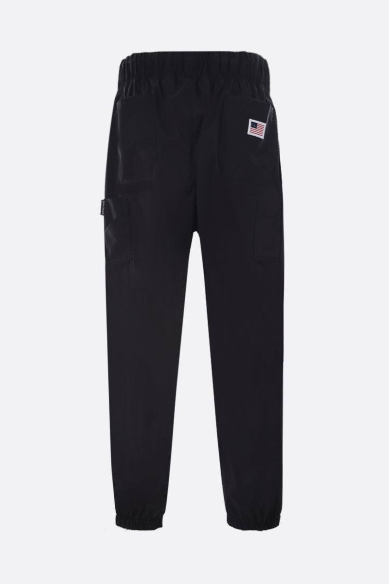 PALM ANGELS: New Gothic nylon joggers Color Multicolor_2