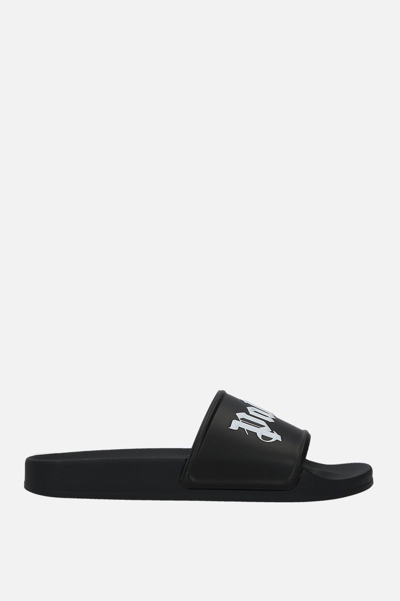 PALM ANGELS: Palm Angels rubber pool slides Color Multicolor_1