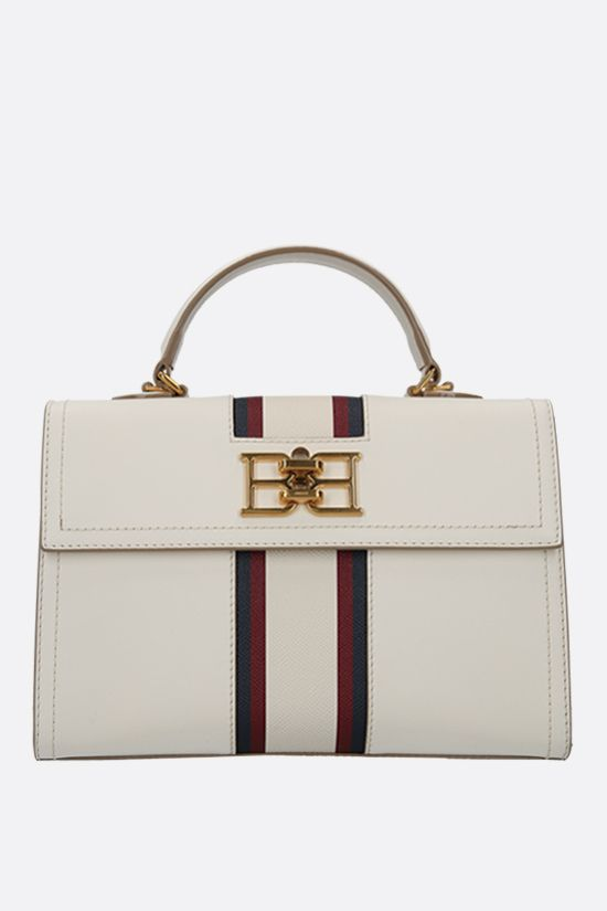 BALLY: Brettie smooth leather handbag Color Neutral_1