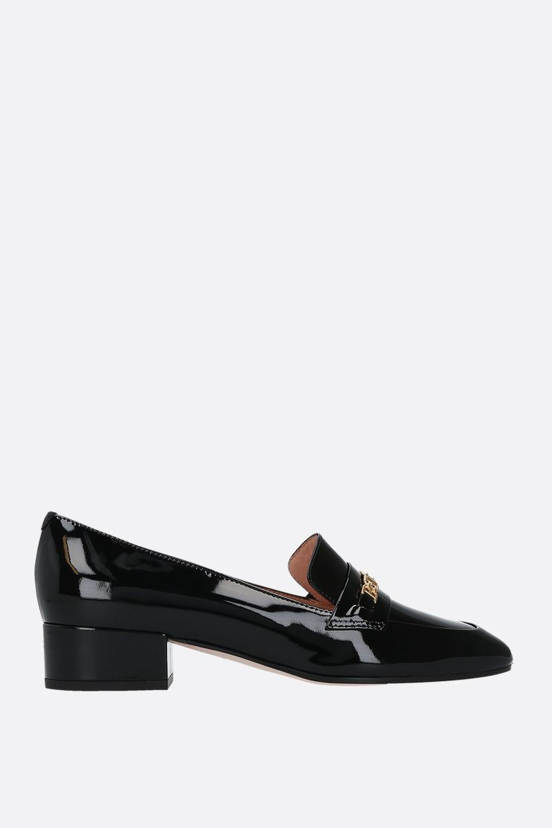 BALLY: Dahlia patent leather loafers Color Black_1