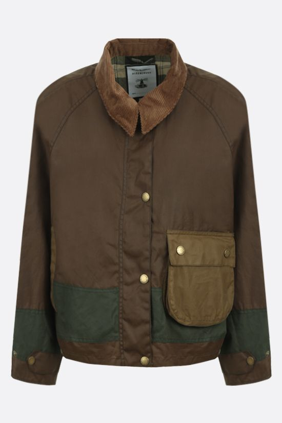BARBOUR BY ALEXA CHUNG: Patricia waxed canvas jacket_1