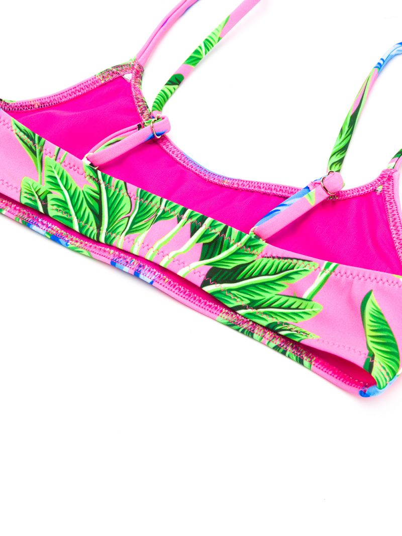 MC2 Saint Barth: savanna print lycra bikini Color Red_2