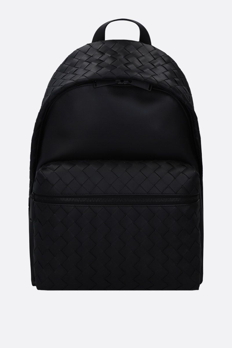 BOTTEGA VENETA: Intrecciato VN backpack Color Black_1