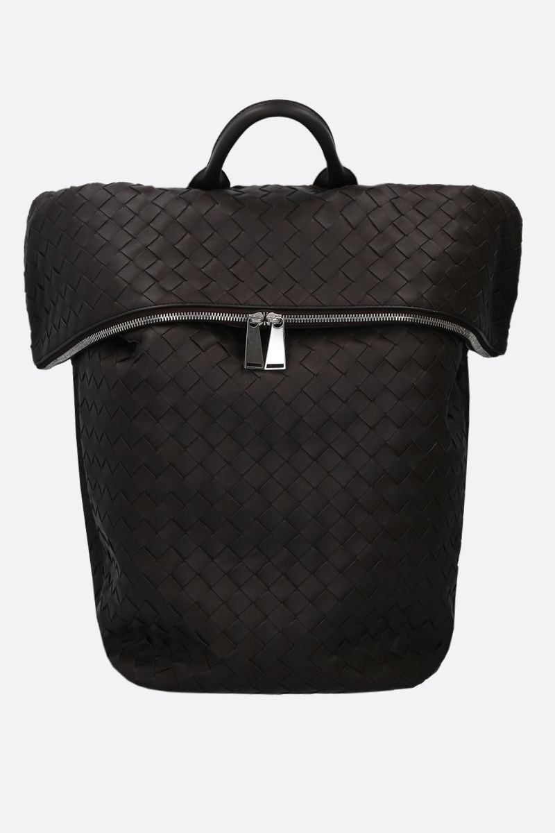 BOTTEGA VENETA: Intrecciato nappa backpack Color Multicolor_1