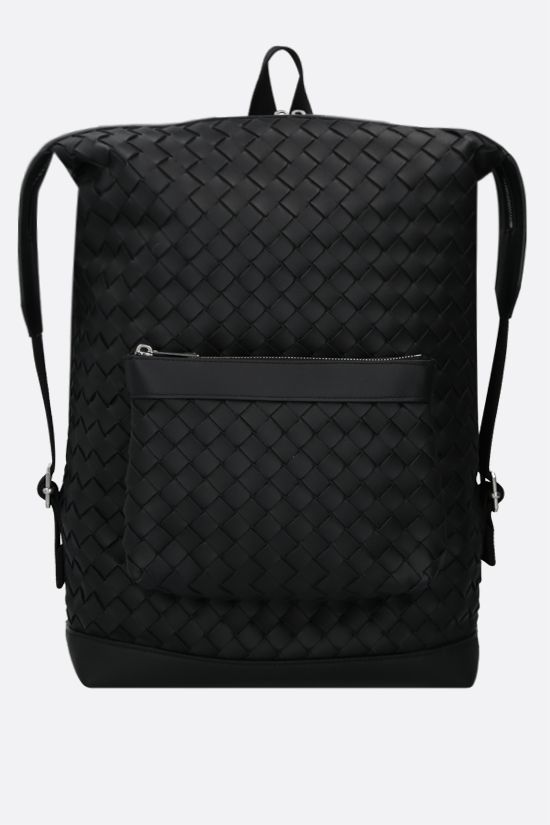 BOTTEGA VENETA: Intrecciato Hidrology backpack Color Black_1