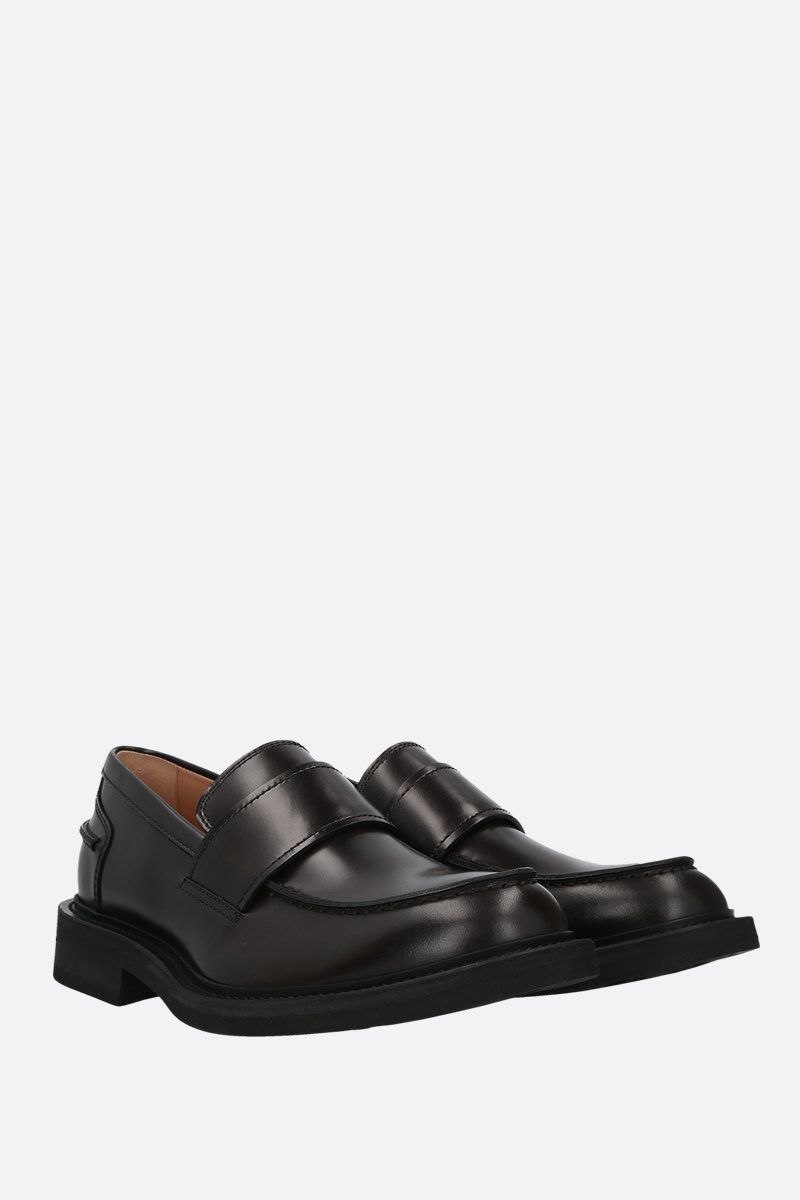 BOTTEGA VENETA: brushed calf loafers Color Brown_2
