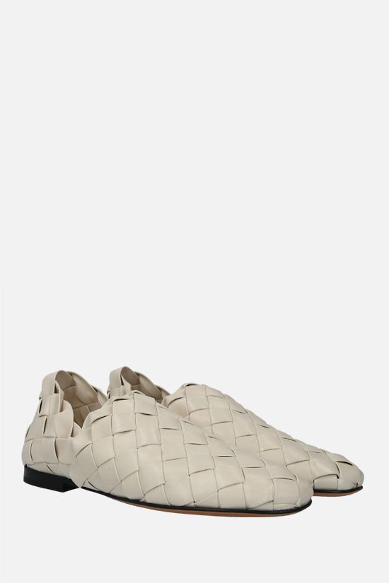 BOTTEGA VENETA: slipper in Intrecciato nappa Colore Neutro_2