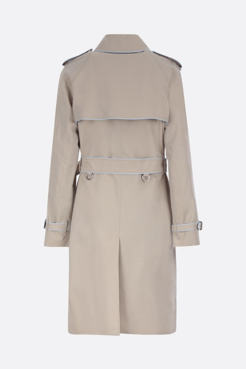 BURBERRY: Batley cotton double-breasted trench coat_2